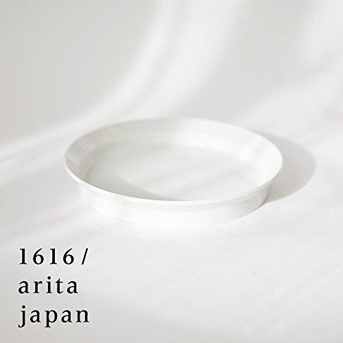 【아리타산 도자기/자기】arita japan TY RoundDeepPlate200 white  TY라운드Deep플레이트200화이트
