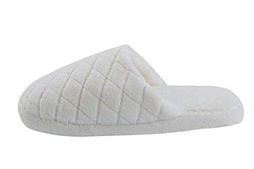 Surblue blanco de casa mujer para por Zapatillas estar rFqSZ0rw