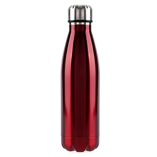OUTAD 18-Ounce Sports Bottle, Vacuum Insulated Stainless Steel Water Bottle