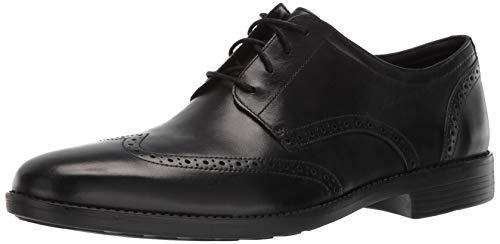 Bostonian Men's Birkett Wing Oxford Black Leather 085 M US