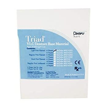 Amazon com: Triad Denture Resin Denture Base Material Ropes