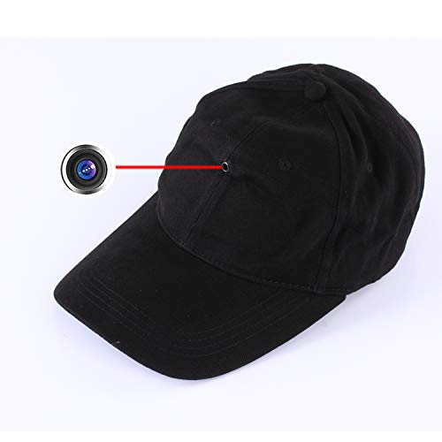 Hidden 1080P Cap Camera – Covert Video Recorder with Wireless Control for Running Cycling Climbing Hiking Fishing Outdoor Sports Hat@HopeGem
