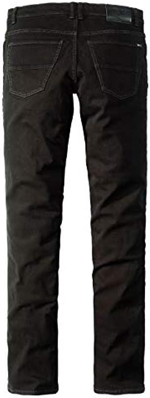 Paddocks`s dżinsy męskie Ranger - Slim Fit - czarne - czarne/czarne: Odzież