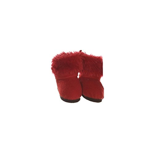 Faux Fur Christmas Boot - 4