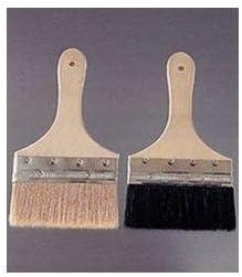 ブタ毛ウスロ防水刷毛(立型) 白 10本入り