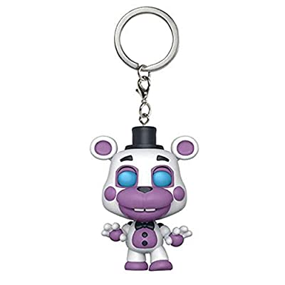 Funko Pop Keychain: Five Nights at Freddy's Pizza Simulator - Helpy Collectible Figure, Multicolor: Toys & Games