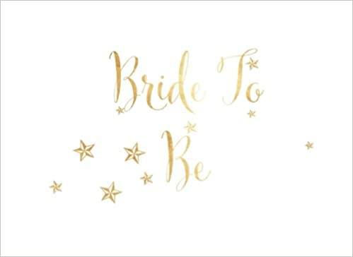 bride to be gold beautiful wedding bridal shower bachelorette hen party message book keepsake scrapbook memorabilia for friends family to write a
