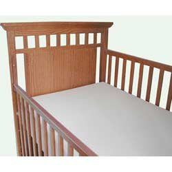 Moonlight Slumber Starlight Support Supreme Crib Mattress All Foam with Visco (Foam Visco Crib Mattress)