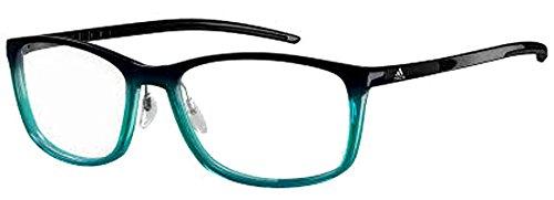 New Adidas Prescription Eyeglasses - AF47 6060 - Matte Petrol Green (54-16-140)