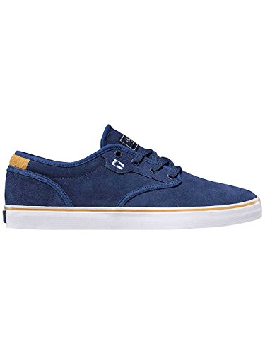 Globe Motley GBMOTLEY - Zapatillas de cuero unisex Azul - Blue/Gold