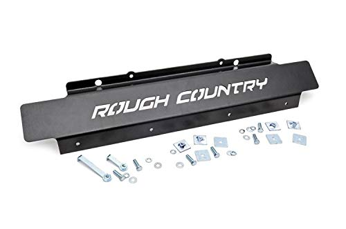 Rough Country Front Skid Plate Fits 2007-2018 [ Jeep ] Wrangler JK Front Armor 778 ()