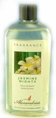 Alexandria Fragrance Lamp Oil Refills - 16oz - JASMINE NIGHTS (Alexandria Lamps Fragrance)