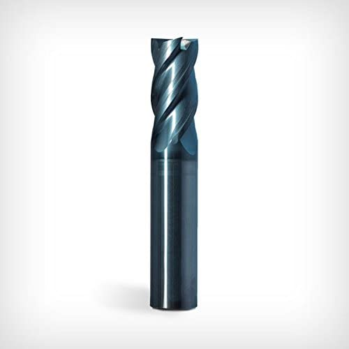VAR CARBIDE END MILL GW Schultz Tool nACo COATED /Ø.25 IN | 1.125 IN OAL .015 IN .25 IN HLX RADIUS SHK HGW4 Series 3.0 IN LOC 4 Fl