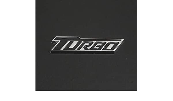 TURBO Red Sticker Logo Race Universal Auto Car Metal Stylish Emblem Badge Decal