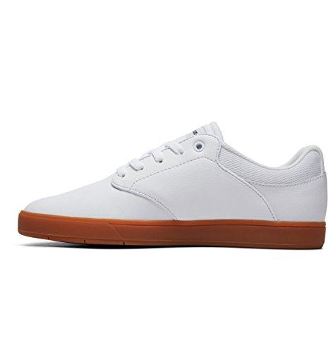 Chaussures Le Hommes Dc Pour Blanc Shoes Bleu Visalia Marine BSwqOU
