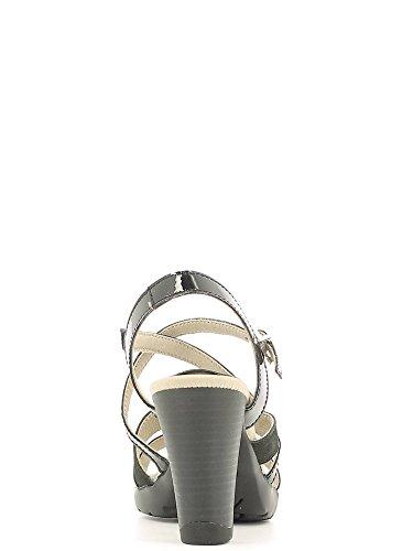 Chaussure noire Callaghan plate-forme modèle 94504.