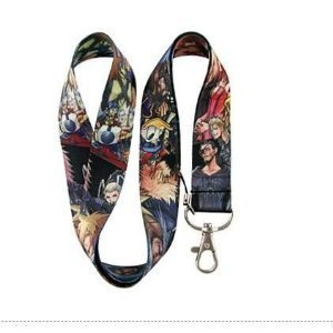 1 X Kingdom Hearts II Black Final Fantasy Disney Themed Lanyard -