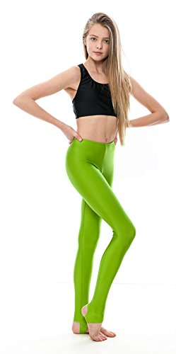 ca58606206444 KDT001 Girls Ladies Childrens All Colours And Sizes Nylon Lycra Shiny  Stirrup Dance Gymnastics Tights Leggings By ...