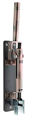 BOJ Professional Wall-mounted Corkscrew with Wood Backing Model Wine Opener 110 US (Old Coppered)