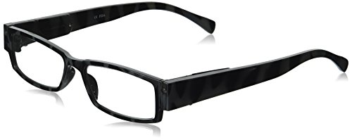 EVIDECO LED Reading Glasses with Light, LG Safari Optic By Finess Power +1.5