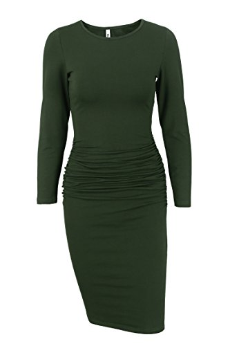 Ruched Dress Color - 2