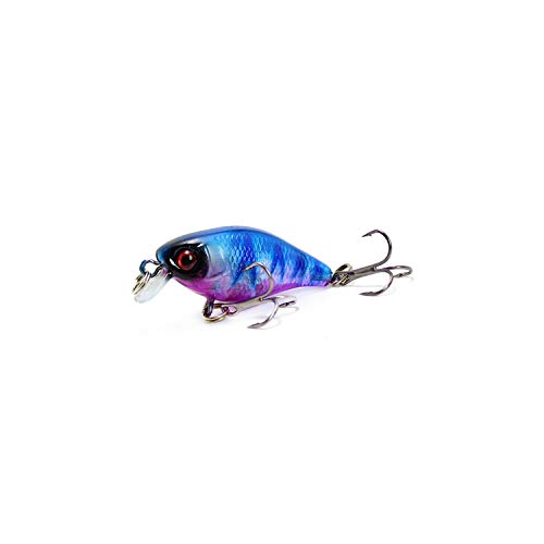 Fishing Lures 45Mm 4.4G Artificial Hard Bait Japan Mini Fish Carp Fishing,C -