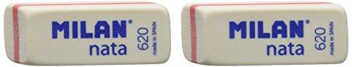 Milan BPM10044 – Pack De 2 Gomas De Borrar