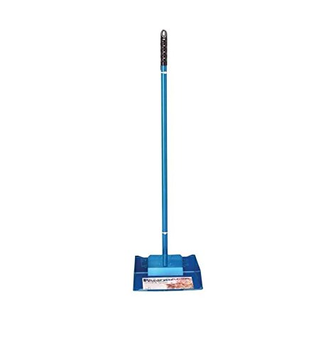 Large Pet Pooper Scooper for Dogs & Pets 3 Fashion Colors Kennel Yard Easy Clean(Blue) ()