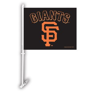 MLB San Francisco Giants Car Flag