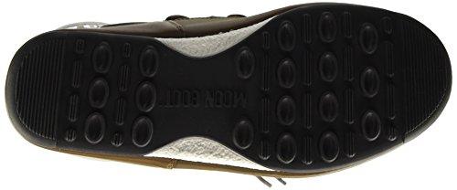 Quilted Blu E Stivali Grigio Unisex Boot W Bronzo adulto Moon Ux8wq