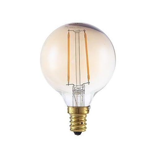 Led E12 160 Lm Sn 2w À 2 Ampoules Filament G16 5 Dimmable 120v qSUMVpz