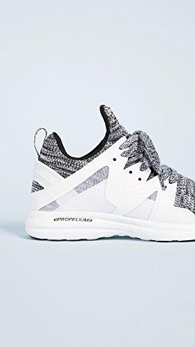 Apl: Laboratori Di Propulsione Atletica Da Donna Ascend Sneakers Bianco / Nero / Bianco Melange