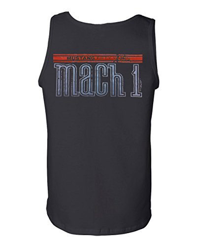- Licensed Ford Mustang Mach 1 Tank Top 50th Anniversary Muscle Shirt Black XL