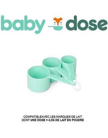 Juego de 3 cucharas medidoras para dosificar el leche en polvo par bebe Y