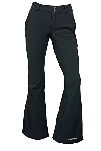 Columbia Womens Squaw Ascent Softshell Omni-Heat Reflective Thermal Insulated Ski Pants,Black,6 Columbia Women Ski Pants
