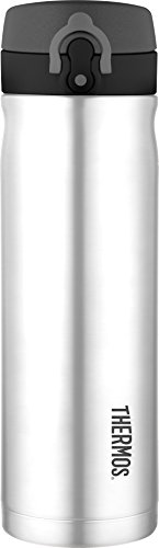 Thermos 16 Ounce Direct Drink Bottle, Stainless Steel