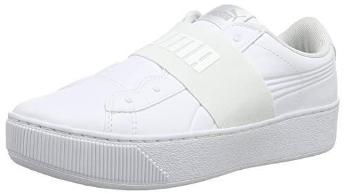 Basse Scarpe Bianco Platform Donna White Puma 02 Vikky da puma Puma Ginnastica Elastic White T6aYw
