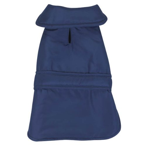 Casual Canine Barn Pet Coat - Navy Blue XX-Large