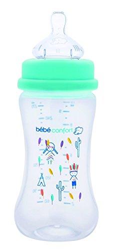 Bébé Confort Biberon Maternity en Plastique Polypropylène T1 Indians Blanc 270 ml bébé confort 3102203900