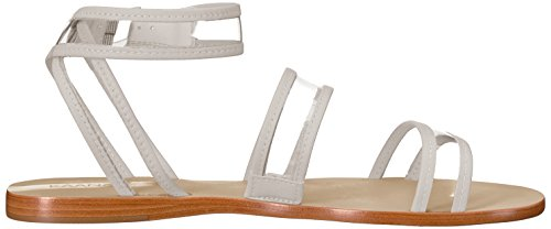 Kaanas Moulantes Sandale through Plate Blanc Olinda Large Femmes Au See Des Les YtBw4qW