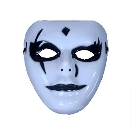 Wetietir Festival Mask Halloween Masks Men Ladies Horror Masks Child Masks Decorative Masks A Pack of 3,D-OneSize Costume Mask (Color : C, Size : OneSize) ()