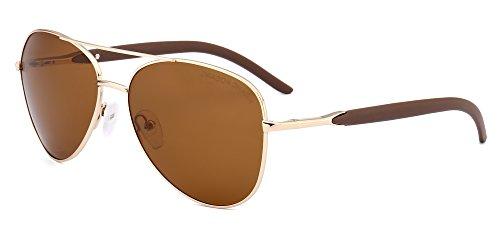 DRAGON CHARM 2017 New Aviator Sunglasses Polarized Metal Unisex Glasses - 2017 Sunglasses New