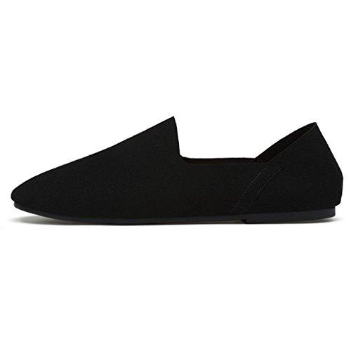 La Zapatos De Black Los Antideslizantes Zapatos Zapatos Calzan De Estupendos Los Hombres Los Fibra BP1Yvxg
