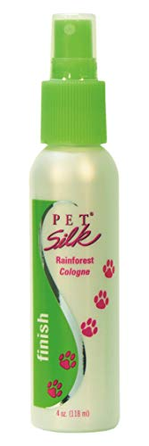 Forest Silk - Pet Silk Rainforest Cologne - Dog Deodorant Perfume Body Spray with Conditioning & Deodorizing Qualities - Clean & Fresh Fragrance - Pet Grooming Perfume for Cats (4 Ounce)