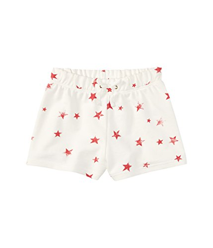 Polo Ralph Lauren Girls Stars Play Wear Casual Shorts White M