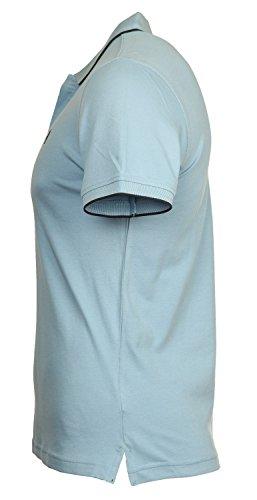 MCS Marlboro Classics Herren Poloshirt Hellblau CMCN404-L0086402-050