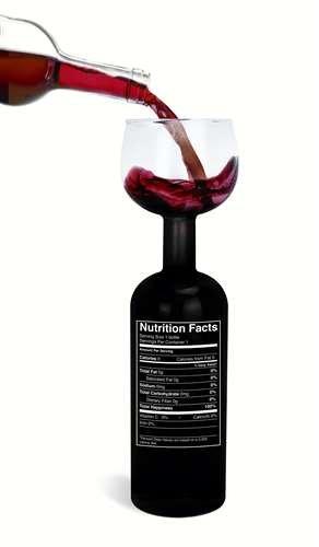 BigMouth Inc Original Bottle Glass