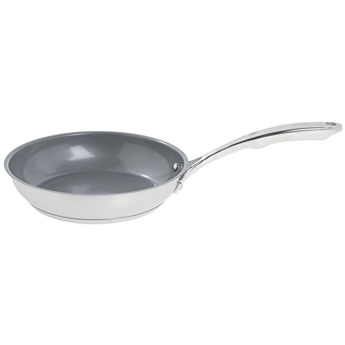 Chantal SLIN63-24C Induction 21 Steel Ceramic Coated Fry Pan, 10-Inch by ()