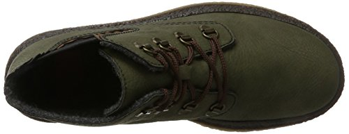 Rieker Women's 53234 Boots, Green, 3.5 UK Green (Forest/Brandy 54)