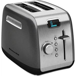 KitchenAid KMT222QG 2-Slice Toaster – The toaster works perfectly. Both my wife and myself